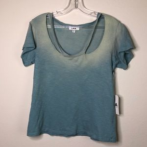 LNA cut out t-shirt